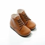 lacets élastiques enfant rond marron sur la boutique liberty pieds