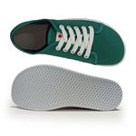 basket anatomic all in verte à semelle blanche sur la boutique liberty pieds (3)