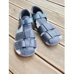 sandales ef barefoot grise sur le boutique liberty pieds (2)