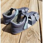 sandales ef barefoot grise sur le boutique liberty pieds (5)