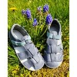 sandales ef barefoot grise sur le boutique liberty pieds (6)