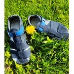sandales EF barefoot bleu marine sur la boutique liberty pieds (10)