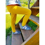 sandales EF barefoot gris anthracite et rose sur la boutique liberty pieds (2)
