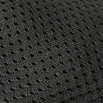 baskets ALL IN en mesh noir AM01 détail tissus et coloris sur la boutique Liberty Pieds