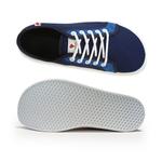 baskets ALL IN bicolore bleues AM12 dessus dessous sur la boutique Liberty Pieds
