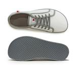 baskets ALL IN bicolore blanches et grises AM04 dessus dessous sur la boutique Liberty Pieds