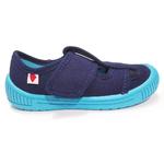 Sandales Anatomic enfants bleu marine et semelle bleu ciel sur la boutique Liberty Pieds