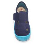 Sandales Anatomic enfants bleu marine et semelle bleu ciel sur la boutique Liberty Pieds (2)
