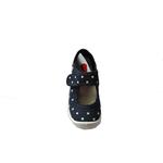 Sandales Anatomic enfants bleu marine à poids et semelle blanche sur la boutique Liberty Pieds (1)