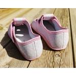 chaussons anatomic gris à pois rose sur la boutique liberty pieds (11)