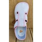 chaussons anatomic gris à pois rose sur la boutique liberty pieds (14)