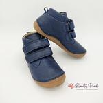 chaussures en cuir froddo paix velcro dark blue sur la boutique liberty pieds (3)