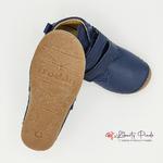 chaussures en cuir froddo paix velcro dark blue sur la boutique liberty pieds (6)