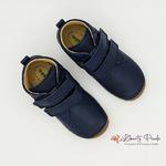 chaussures en cuir froddo paix velcro dark blue sur la boutique liberty pieds (12)