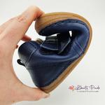 chaussures en cuir froddo paix velcro dark blue sur la boutique liberty pieds (1)