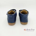 chaussures en cuir froddo paix velcro dark blue sur la boutique liberty pieds (11)