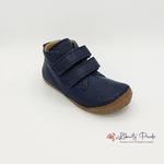 chaussures en cuir froddo paix velcro dark blue sur la boutique liberty pieds (7)