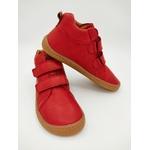 bottine Froddo barefoot high tops couleur rouge sur la boutique Liberty Pieds-2