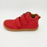 bottine Froddo barefoot high tops couleur rouge sur la boutique Liberty Pieds-5