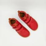 bottine Froddo barefoot high tops couleur rouge sur la boutique Liberty Pieds-9