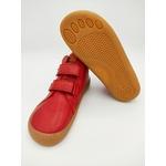 bottine Froddo barefoot high tops couleur rouge sur la boutique Liberty Pieds-11