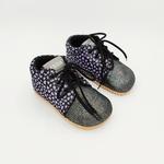 chaussures automne Beda 1ers pas BF060754VTS dark violette sur la boutique liberty pieds-11