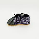 chaussures automne Beda 1ers pas BF060754VTS dark violette sur la boutique liberty pieds-4