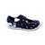 Sandales Anatomic enfants bleu marine à poids et semelle blanche sur la boutique Liberty Pieds