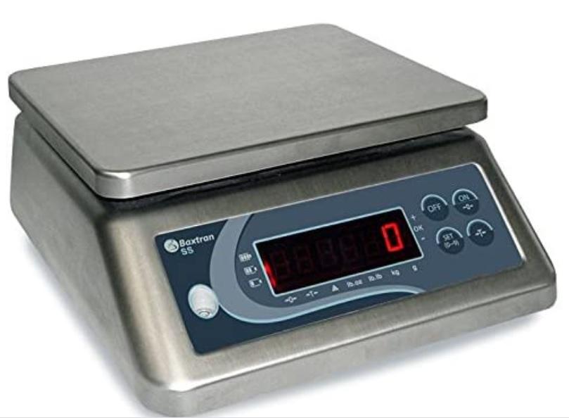 Balance de comptoir <br/><b>Portée maximum 30 kg </b><br/>Précision 2 grammes <br/>Plateau : 230x190 mm