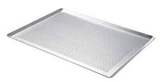316 645 10 Plaque perforee 4 bords pinces aluminium
