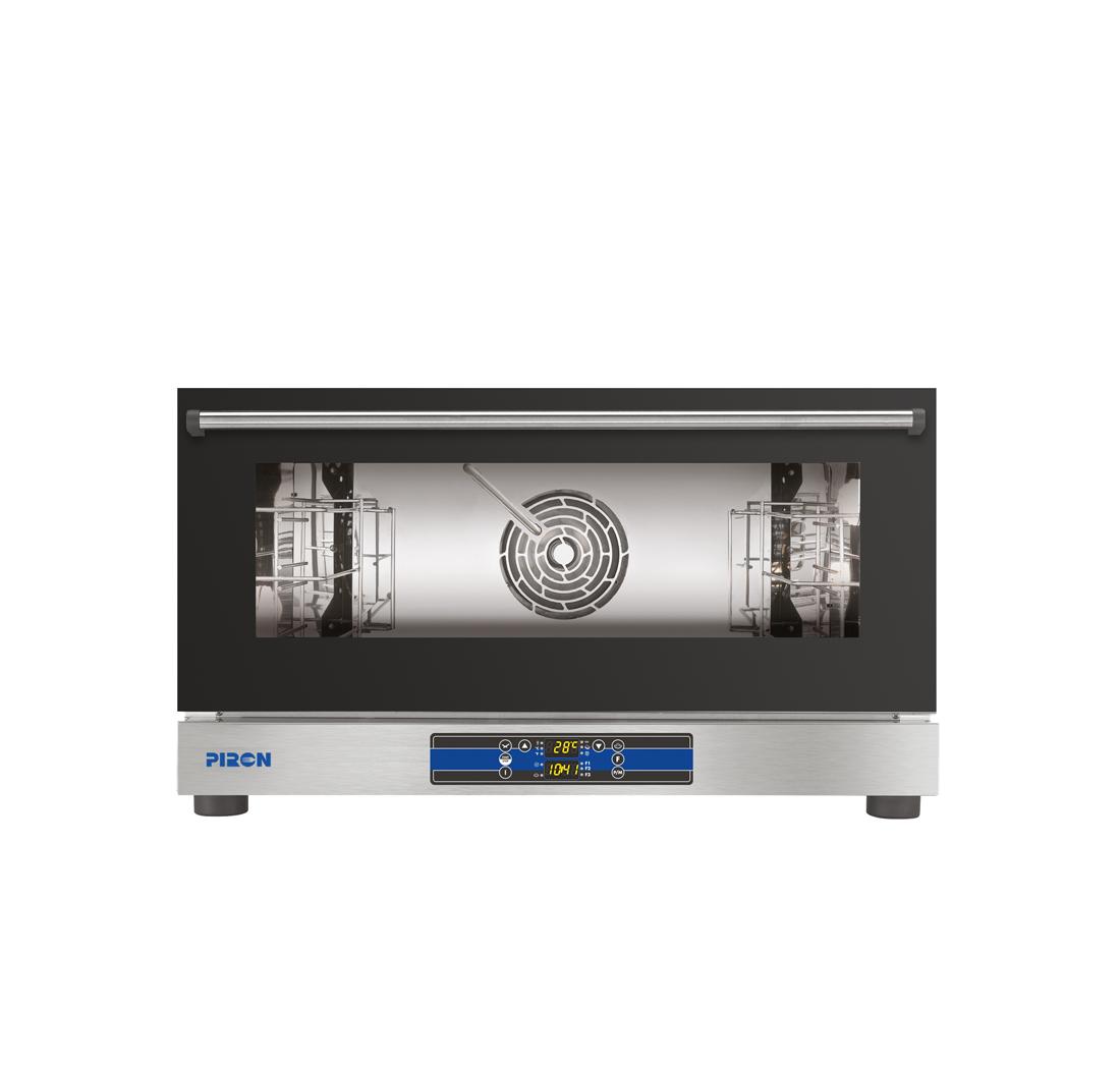 Four ventilé à convection <br />3 Niveaux - Plaque EN 600x400<br /> GN 1/1 (530x325 mm) <br />Avec commande numérique