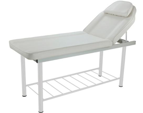 table de massage fixe avec dossier r glable coxi. Black Bedroom Furniture Sets. Home Design Ideas