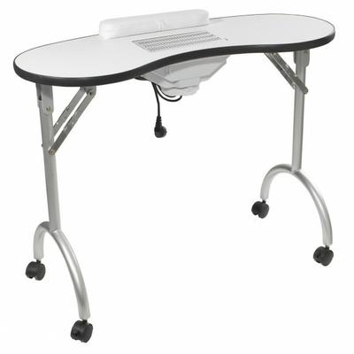 Table pliante pour manucure avec aspiration int gr e palmar mobilier esth - Table pliante avec chaise integree ...