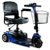 Scooter électrique 3 roues avec batterie au lithium, SMART LITHIUM