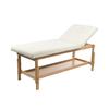Table fixe en bois avec dossier et hauteurs réglables, SHERWOOD