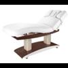 Table de massage haut de gamme en bois foncé, 4 moteurs, TROCH WENGUE