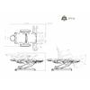 Fauteuil de podologie grand confort blanc, 3 moteurs, MINKA