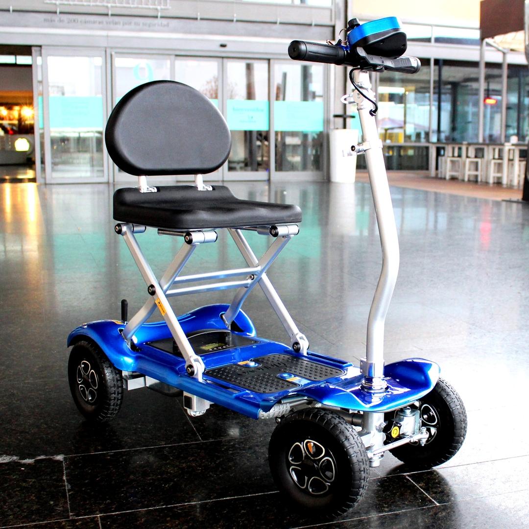 Scooter électrique 4 roues pliant, BRAVO Scooters