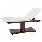 Table de massage électrique wengué,  2 moteurs : 192 x 76 cm : TRAPP