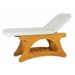 Table de massage haut de gamme en bois clair , NUCH