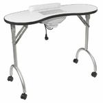Table pliante pour manucure avec aspiration intégrée, PALMAR