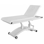 Table de massage électrique blanche, 1 moteur, CERVIC