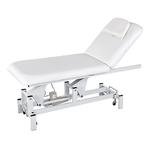 Table de massage électrique blanche, 1 moteur: LUMB