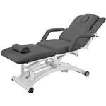 Table électrique 3 moteurs pour physiothérapeute, gris fonçé, SPHEN