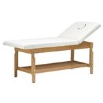 Table de massage fixe en bois, 2 panneaux, BITO