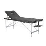 Table de massage pliante en alu, 2 panneaux, ERON
