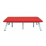 Table BOBATH, fixe, 1 panneau, 198 X 198 X 50 cm