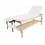 Table fixe bois 2 panneaux avec tétière articulée et amovible, SAVANE