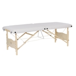 Table de massage pliante en bois ultra-confort, PLENIC