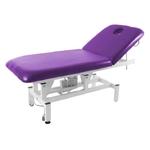Table de massage électrique, 1 moteur, MAUVE